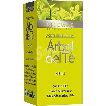 Bifemme Aceite esencial del árbol del té antiséptico y cicatrizante Envase 30 ml