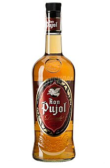 Pujol Ron Dorado Botella 1 litro