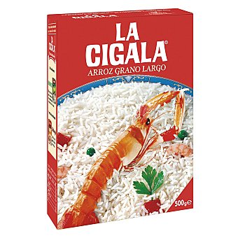 La Cigala Arroz grano largo 500 g