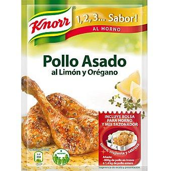 Knorr Pollo asado al limón y orégano Sobre 33 g