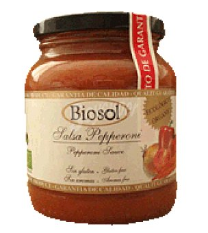 Bionaturales Salsa peperoni 350 g