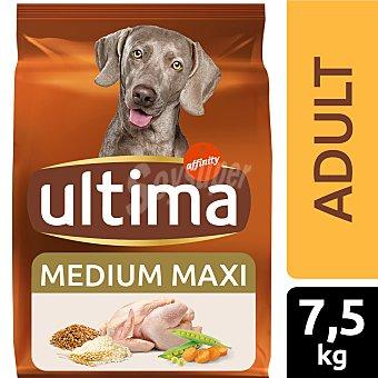 Ultima Affinity Alimento para perros adulto con pollo y arroz Bolsa 7,5 kg