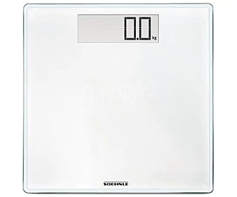 Soehnle Báscula de baño electrónica Style Sense Comfort 100, , color blanco, soehnle 180 kg