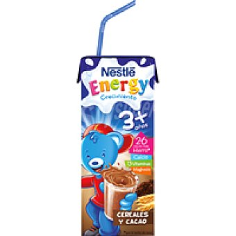 Nestlé Leche de crecimiento 3 + cacao Pack 3x200 ml