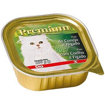 DIA Premium paté para gatos con conejo e hígado tarro 100 gr Tarro 100 gr