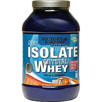 VICTORY ENDURANCE Isolate Crystal Whey sabor naranja aislado de proteina de suero Envase 900 g