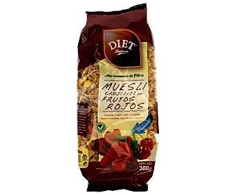 Diet Rádisson Muesli crujiente con frutos rojos Envase 300 g