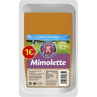 Castillo de Holanda queso mimolette en lonchas envase 100 g