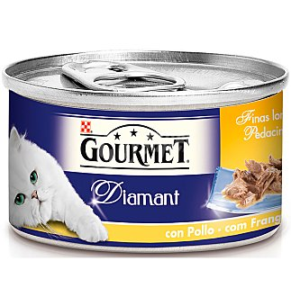 Purina Gourmet Alim.gato sabores mar 85 GRS