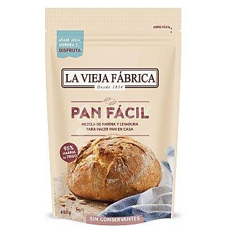 La Vieja Fábrica Preparado pan facil 450 g