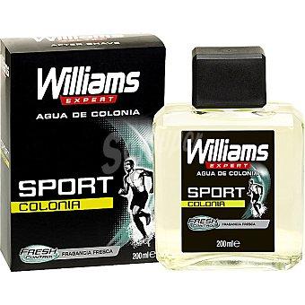 WILLIAMS Expert Sport Agua de colonia fragancia fresca frasco 200 ml