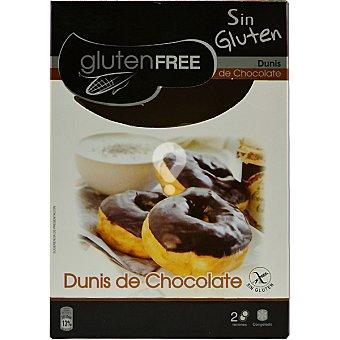 Dunis de chocolate congelados sin gluten envase 100 g