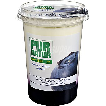 Pur Natur Yogur con arándano ecológico Tarrina 500 g