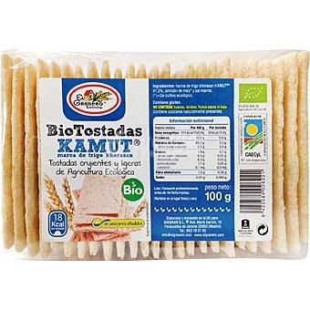 El granero kamut tostadas crujientes y ligeras ecológicas  envase 100 g