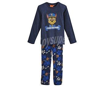 Patrulla Canina Pijama largo de niño micropolar talla 5.
