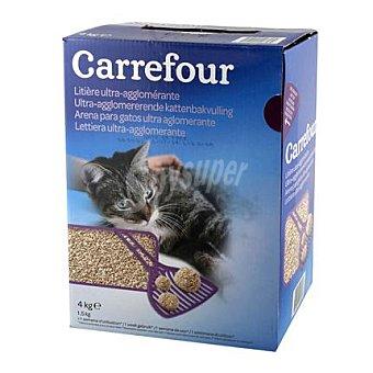 Carrefour Absorbente aglomerante para gato 4 Kg