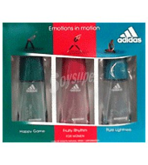 Adidas Estuche Colonias Woman Sport 30 ml: Fruity, Pure y Happy 1 ud