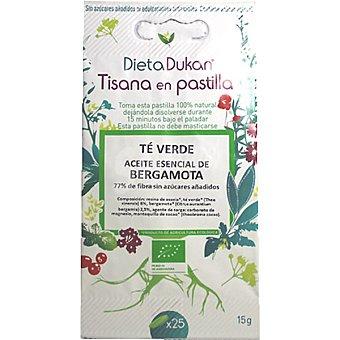Dieta Dunkan Caramelos de tisanas con extracto de té verde envase 15 g 25 unidades
