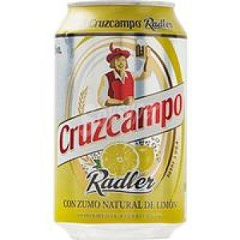 Cruzcampo Cerveza Radler 12 unidades de 36 cc