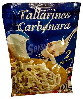 Hacendado Pasta deshidratada tallarin carbonara Sobre 163 g