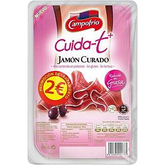 Campofrío Jamón curado red. grasa CUID-T 110 G