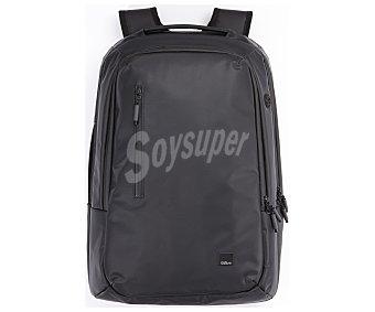"""QILIVE OUTDOOR Mochila para ordenador portátil qilive Backpack, negra, compatible con portátiles de hasta 16"""" 15-16''"""