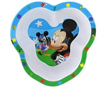 DISNEY Plato hondo pequeño o cuenco de melamina con ilustraciones de Mickey Mouse 1 Unidad