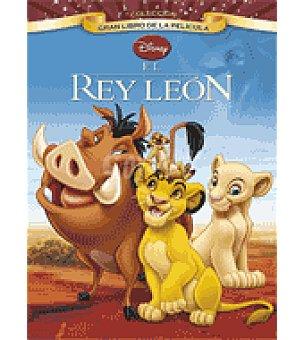 Disney El rey león Gran libro de la película Disney