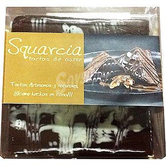 SQUARCIA TARTAS DE AUTOR Tarta de bizcocho brownie con nueces artesanal  Pieza 900 g