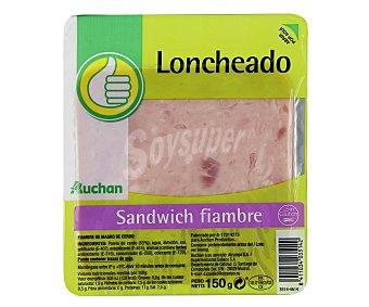 Productos Económicos Alcampo Sándwich Fiambre 150g