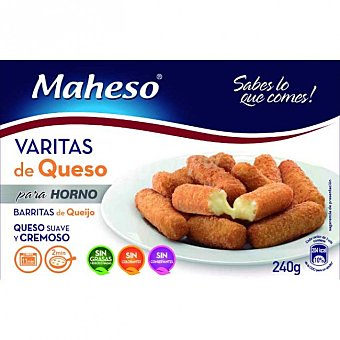 Maheso Varitas de queso Caja 240 g