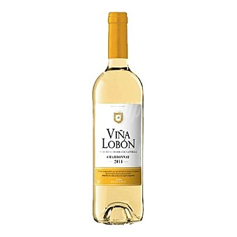 Viña Lobón Vino de la Tierra de Castilla blanco chardonnay Botella de 75 cl