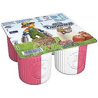 Danonino Danone Danonino Maxi de fresa-natural Pack 4x100 g