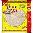 Wrap tortilla Paquete 375 g Zanuy