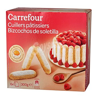 Carrefour Bizcocho de soletilla 300 g