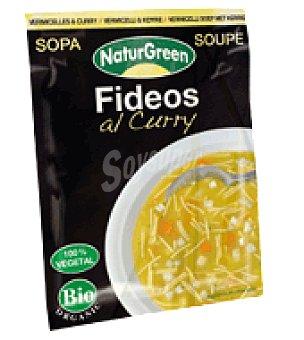 Naturgreen Sopa Fideos al curry 40 g