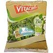 Ensalada Mesclum ecológica mezcla lechuga roja, verde rizada, espinaca y rúcula selvática Bolsa 100 g Vitacress