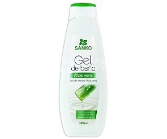 SANKO Gel de baño Aloe Vera 1250 ml