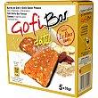 Gofi Bar - barritas de dátil y gofio sabor plátano 5x35g, caja 175 g La Piña