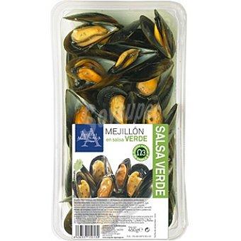 Angulas Aguinaga Mejillón cocido en salsa verde Bandeja 450 g