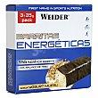 Barritas energéticas sabor yogur muesli pack 3x35 g WEIDER
