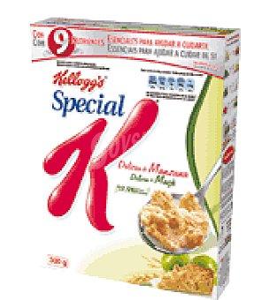 KELLOGG'S SPECIAL K Manzana: Copos tostados de arroz y trigo con granolas de cereales sabor a manzana Special K 300 g