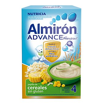 Almirón Nutricia Papilla de cereales sin gluten Advance Caja 600 g