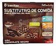 BARRITA SABOR CHOCOLATE NEGRO (SUSTITUTIVO DE COMIDA) CAJA 8 u BELLADIETA