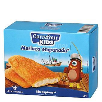Carrefour Filetes de merluza empanados 400 g