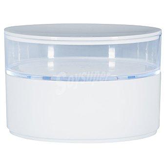 QUO Caja organizadora con 2 compartimentos en color blanco