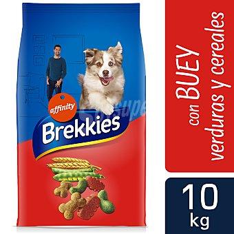 Brekkies Affinity Pienso para perros adultos con buey y verduras Saco 10 kg