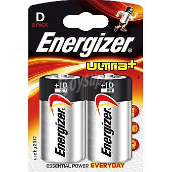 ENERGIZER ULTRA+ Pila alcalina (lr20 - mn1300) +d blister 2 unidades 2 unidades