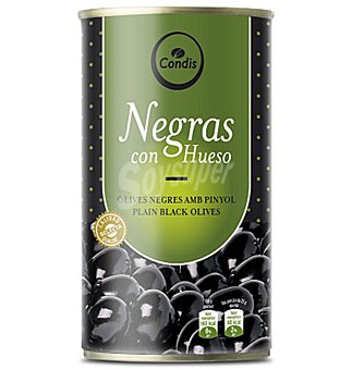 Condis Aceitunas negras c/hueso 185 GRS