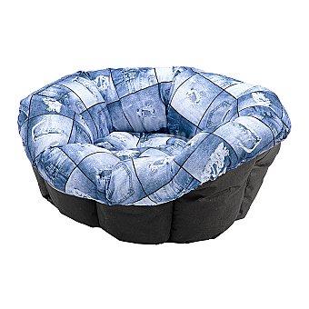 Ferplast Funda de cuna Ferplast para perros Cushion 4 Azul Mediana